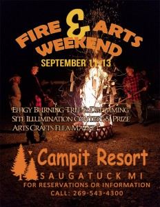 Fire & Arts Weekend