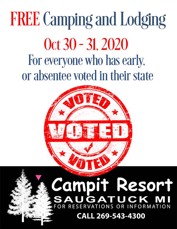 Free Camping If You Voted